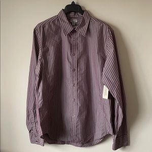 Guess Jeans Striped Button Down Long Sleeve